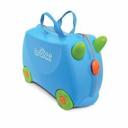 Suitcase Child Super Comfort 4 Wheels Compliant As Ride On Horse Pony Pink Blue
