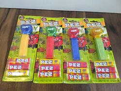 Ebay Crystal Heart Pez Dispensers Set Lot Of 4 Card Limited Edition Collectible