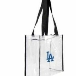 Los Angeles Dodgers Stadium Approved Clear Bag $25.00