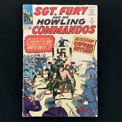 Sgt. Fury And His Howling Commandos Vol. 1 9 Marvel 1964