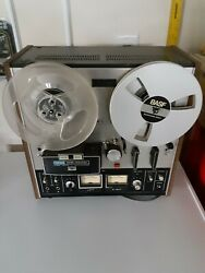 Akai Gx-210d Auto-reverse/3 Motor Stereo Tape Reel-to-reel Untested Sold As Is