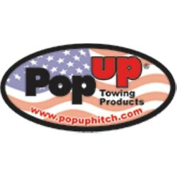 Popup-youngs 238 Flip-over Ball Hitch For 2011-2016 Chevy/gmc 2500/3500 New