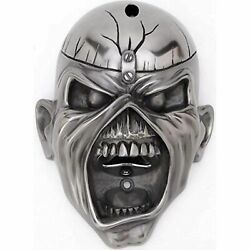Iron Maiden Wall Mounted Bottle Opener Eddie Trooper Face Official Silver New