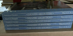 Vintage Time Life Books Hard Cover American Country Set Of 5 11 X 9 1988 1989