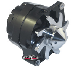 Tuff-stuff 7140fbull12 Fits Gm Alternator Silver Bul Let 140 Amp 1-wire Black