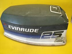 Evinrude 25hp Outboard Top Cover / Motor Cover ----------free Shipping