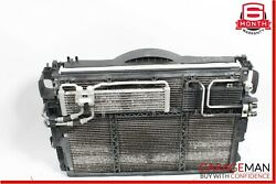 07-09 Mercedes S550 Cl550 Engine Cooling Radiator A/c Condenser Shroud Assembly