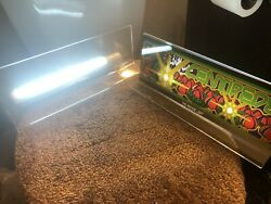 2 Backlit 4 X 11 Marquee W/ The Arcade Light Box Display And Centipede Marquee
