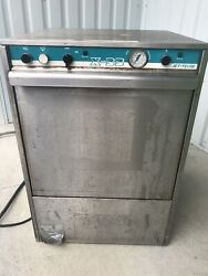 Jet-tech X-33 Low Temperature Commercial Undercounter Stainless Steel Dishwasher