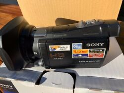 Sony Handycam Hdr-cx700 Hd Hard Drive And Sd Card Camcorder