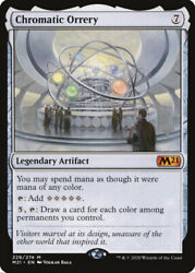 Chromatic Orrery Nm Foil Rare Promo Planeswalker Stampnormally 100