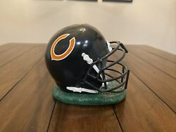 Vintage Nfl Football Chicago Bears Coin Bank Ceramic