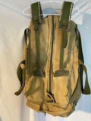 Vintage Military Carry All Field Combat Duffle Bag Canvas Israeli Army