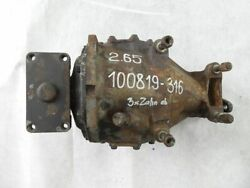 Mercedes W116 450 Sel Limited-slip Differential 2.65 A1163507620