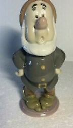 Lladro 7535 Sneezy From Snow White Original Box Mint Never Displayed Rare Signed