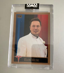 2021 G.a.s. Elon Musk Rookie Card Only 1774 Were Printed Limited Tesla Snl