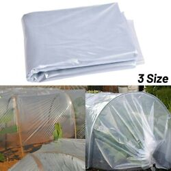 Clear Film Protector Greenhouse Plastic Sheet Cover For Sheeting Garden Diy New