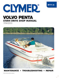 1994-2000 Volvo Penta Stern Drive Clymer Marine Repair Shop Manual B7712 New
