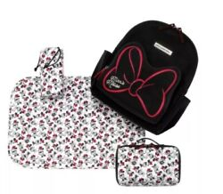 Petunia Pickle Bottom District Backpack Signature Minnie Mouse Large Nwt Tl