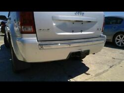 Rear Bumper With Chrome Accent Trim Plate Fits 05-10 Grand Cherokee 539495