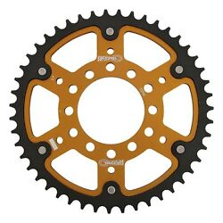 New Supersprox -stealth Sprocket, 7096-47 For Marvic 530 Pitch 6 Bolts 00, Gold