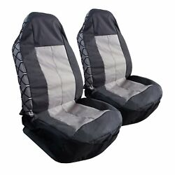 Heavy Duty Waterproof Canvas High Back Car Seat Covers For Jeep Wrangler