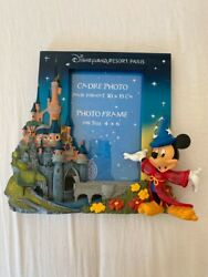 Extremely Rare Walt Disney Mickey Mouse Fantasia Figurine 3d Frame Statue