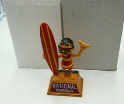 National Bohemian Natty Boh Beer Buble Head Statue 35 Of 500 Collectible
