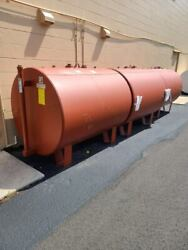 500 Gal. Double Wall Fuel Tank On Support Legs - Highland Model - U.l. 142 - New