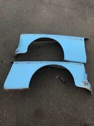 63 64 65 Datsun Roadster 1500 Left And Right Fenders