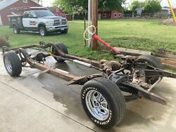 56 Chevrolet Chevy Rolling Chassis
