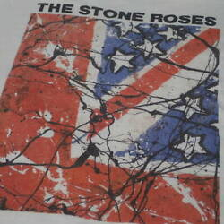 90s The Stone Roses Vintage T-shirt White Things At That Time Real Thing Long