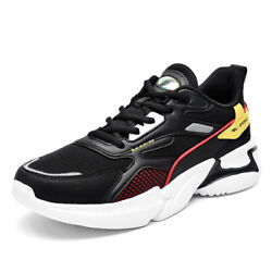 Mens Sports Sneakers Mesh Breathable Tennis Walking Fashion Running Shoes