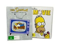 The Simpsons Complete First 1st Season Dvd Box Set - Plus The Simpsons Movie