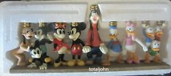 Rare 1995 Disney Menorah Christmas At Our House Candle Holder