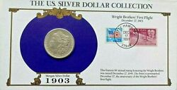 Key Date 1903 Morgan Silver Dollar Collection Celebrating The Wright Brothers