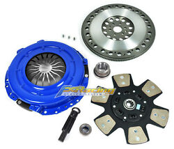 Fx Stage 3 Clutch Kit And Chromoly Flywheel Fits Ford Mustang Gt 4.6l Sohc 6-bolt
