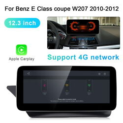 Android Car Dvd Gps Stereo 12.3 For Benz E Class Coupe W207 Radio Multimedia