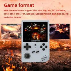 Rg351v Handheld Retro Game Console Preloaded 10000 Games With With Wifi Built In