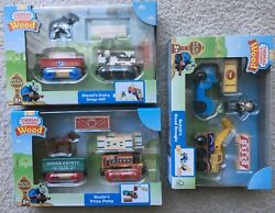 Brand New Lot Of 3 Thomas And Friends Wooden Train Gift Sets