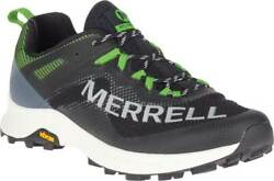 New Mens Merrell Mtl Long Sky Black Lime Mesh Trail Shoes Authentic In Box