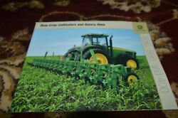 John Deere Row Crop Cultivators And Rotary Hoes For 2004 Brochure Cgpa