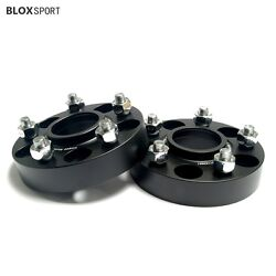 4 30mm Wheel Spacers Fit Ford Mustang Explorer 5x114.3 Cb 70.5 With Lugs Nuts