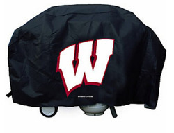 Ncaa College Wisconsin Badgers Economy Size Team Logo Grill Cover Bbq Summer