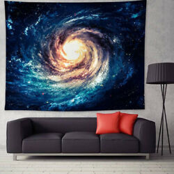 Wall Hanging Galaxy Nebula Trippy Tapestry Space Bedspread Living Room Home Deco