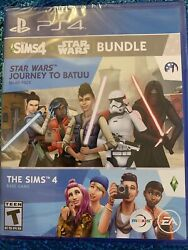 The Sims 4 + Star Wars Journey To Batuu Bundle - Ps4 Factory Sealed