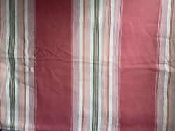Pottery Barn Striped King Duvet Ticking Stripe/ Bow Tie And Shower Curtain Euc C1a