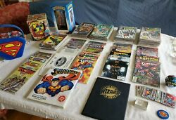 Death And Return Of Superman Collection/lot Dc Comics   Doomsday   Merch And More