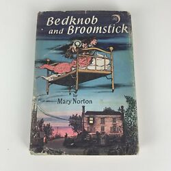 Bedknobs And Broomsticks By Norton Mary Hardcover W/ Dust Jacket 1957