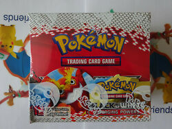 Pokemon Black And White Emerging Powers Booster Box Factory Sealed.